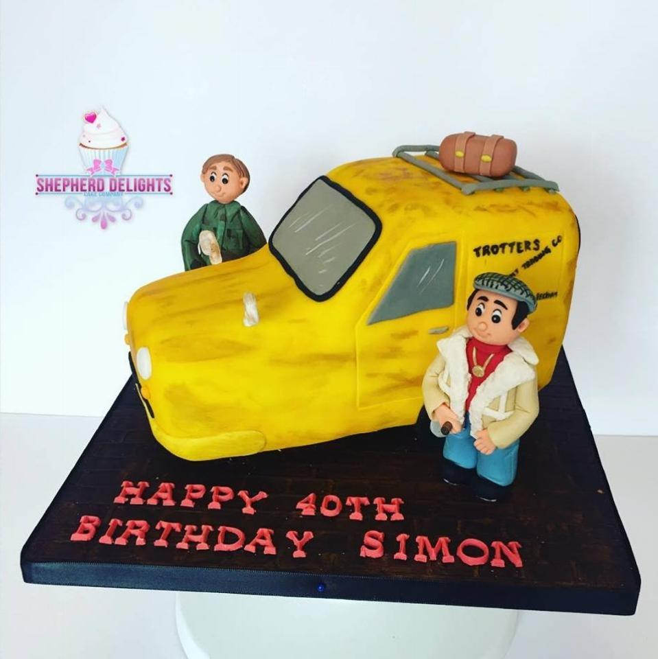Only Fools Horses Birthday Cake