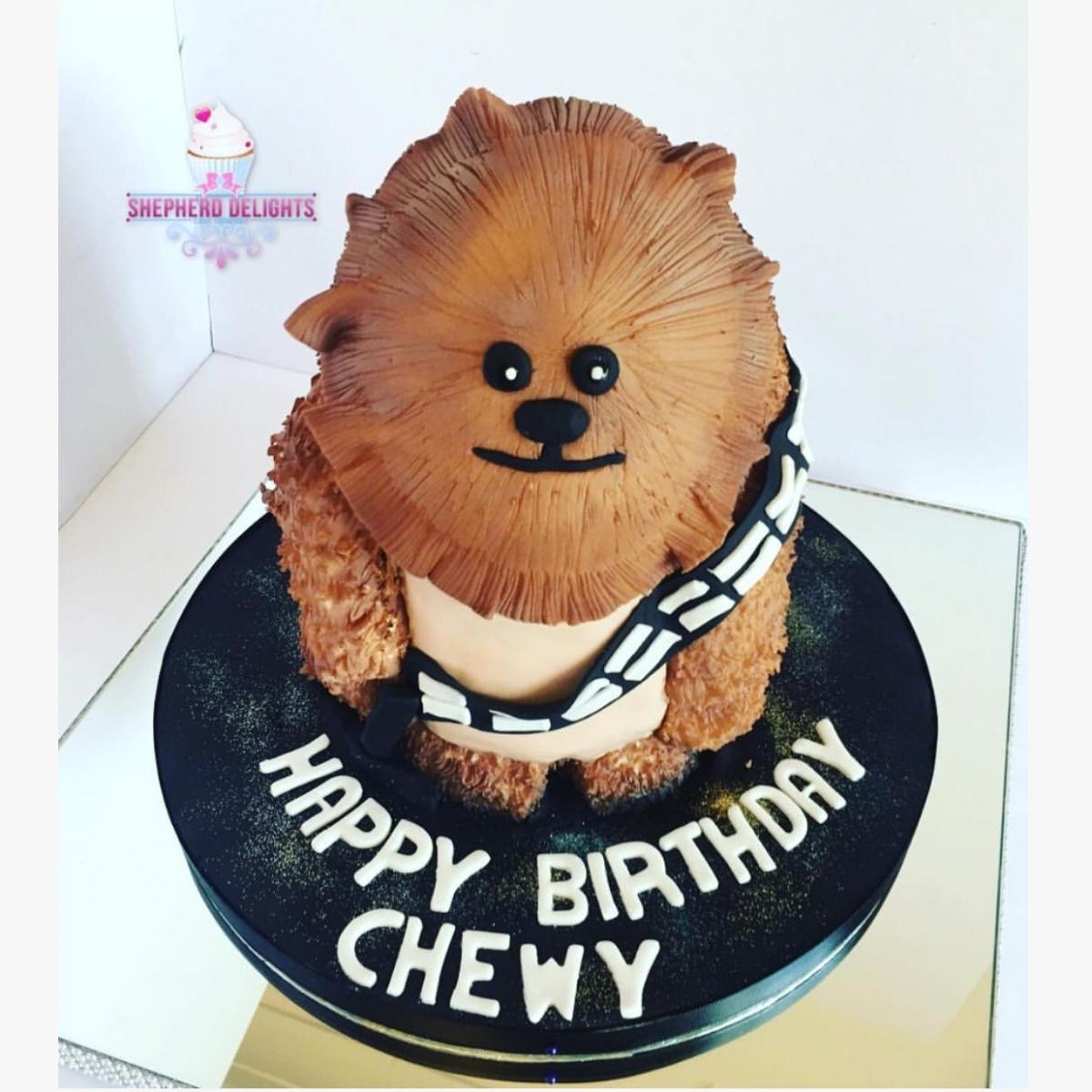 Chewbacca Birthday Cake Teenage Adult Birthday Cakes Themed