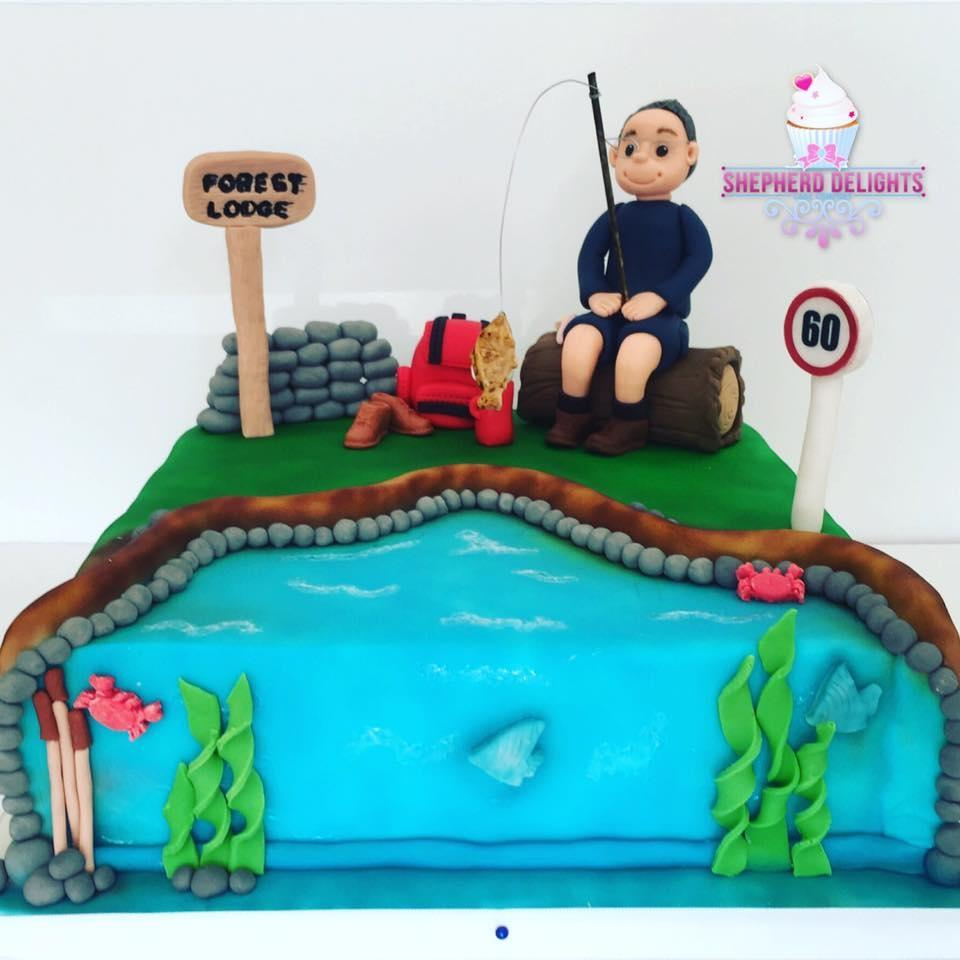 Fishing Man Cake Novelty Cakes For Adults Men