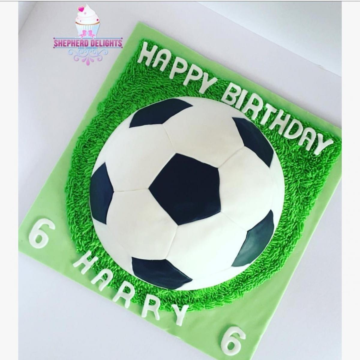 Football Birthday Cake Birthday Cakes