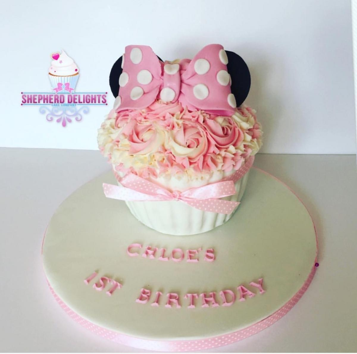 Giant Cupcake Cake Birthday Cakes For Children