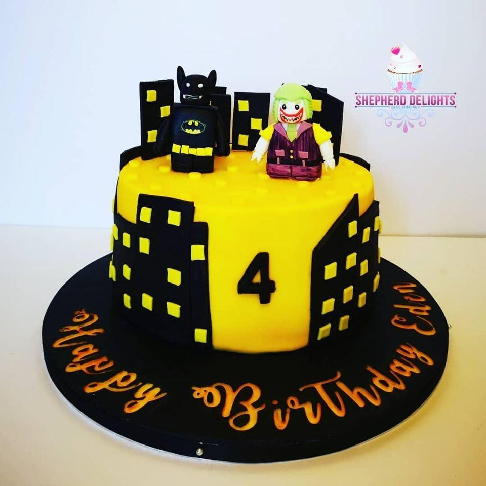 Fabulous Lego Batman Birthday Cake Birthday Cakes Personalised Birthday Cards Veneteletsinfo