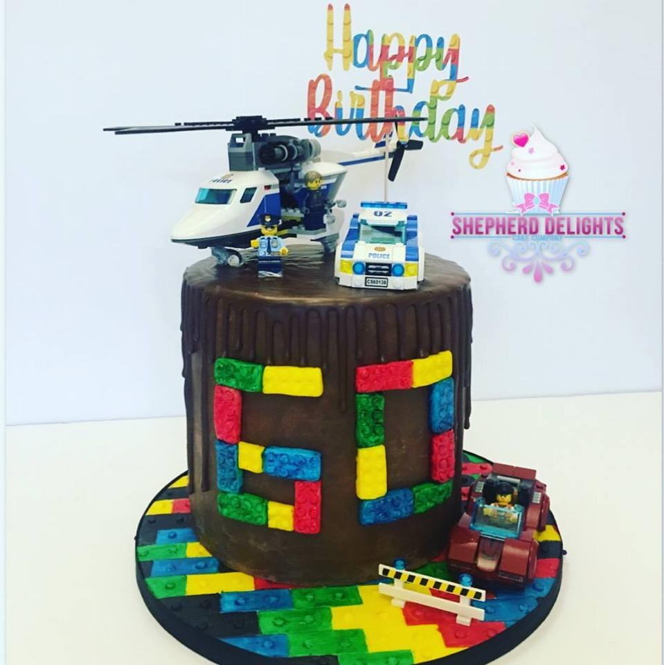 Lego Drip Cake Teenage Adult Birthday Cakes Themed Birthday