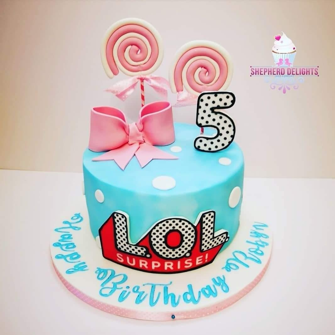 LOL Doll Birthday Cake » Birthday Cakes » Cakes For Children