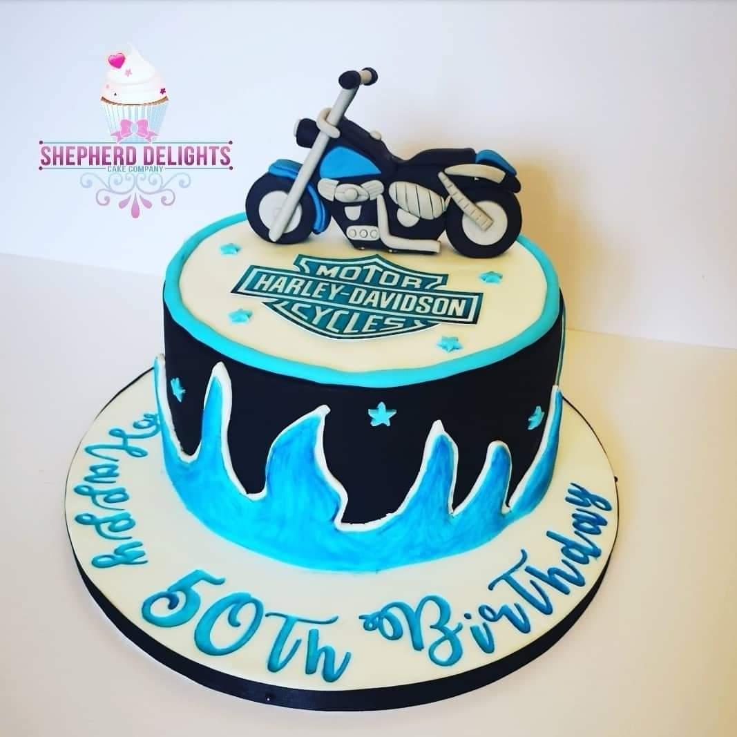 Brilliant Motorbike Birthday Cake Birthday Cakes Personalised Birthday Cards Epsylily Jamesorg