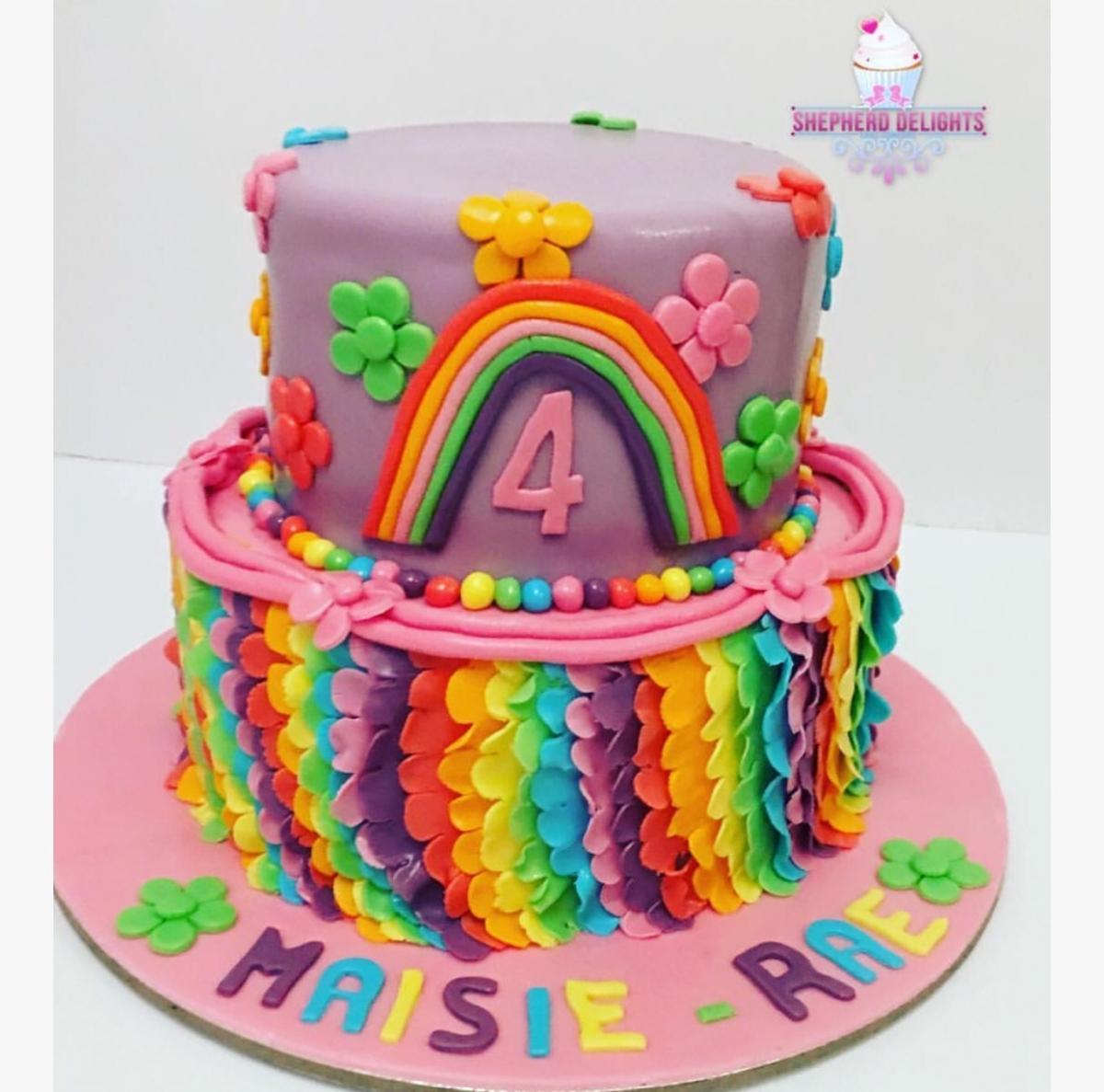 Groovy My Little Pony Birthday Cake Birthday Cakes Cakes For Children Personalised Birthday Cards Arneslily Jamesorg