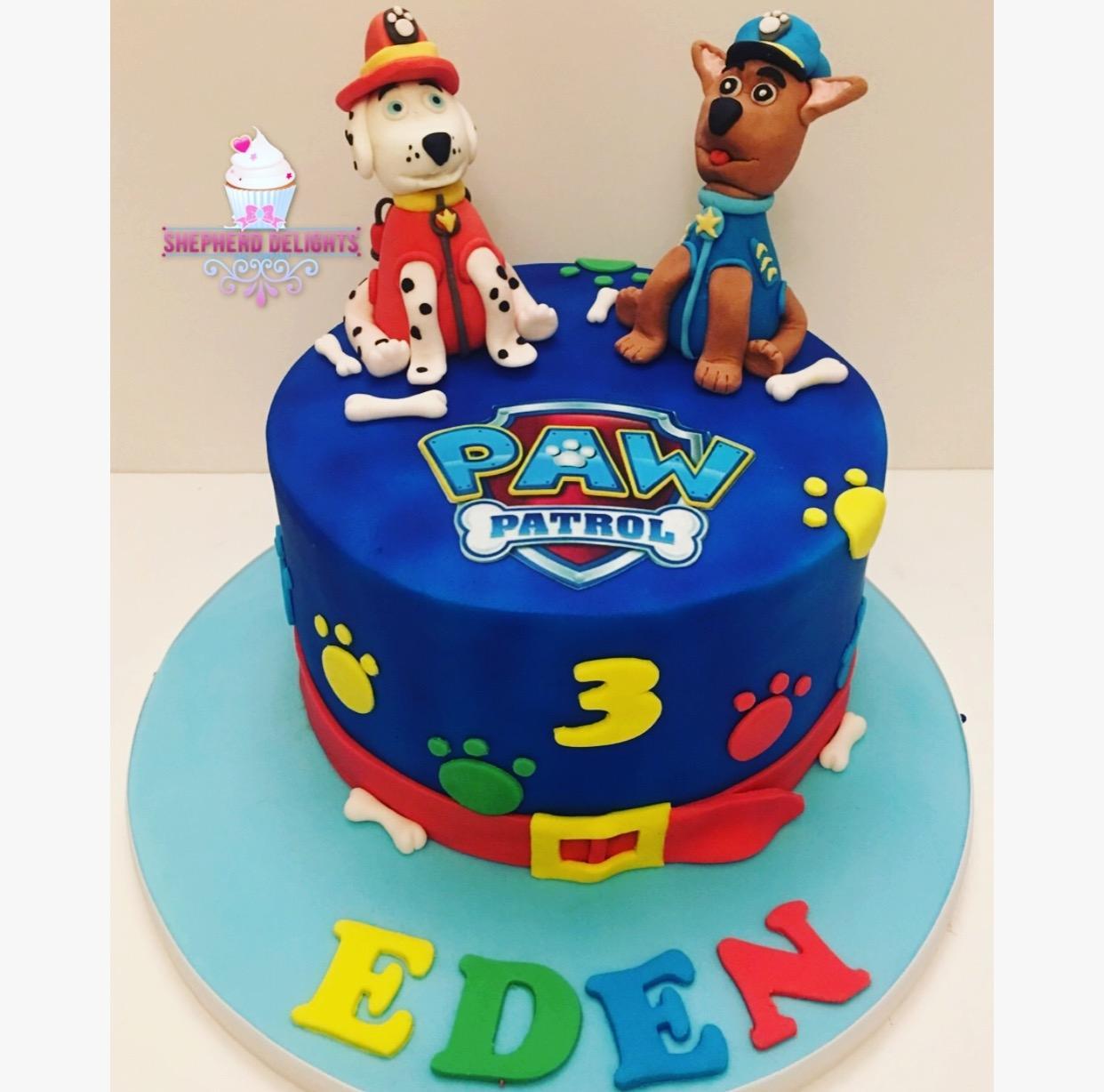 paw patrol birthday cake » birthday cakes » cakes for children