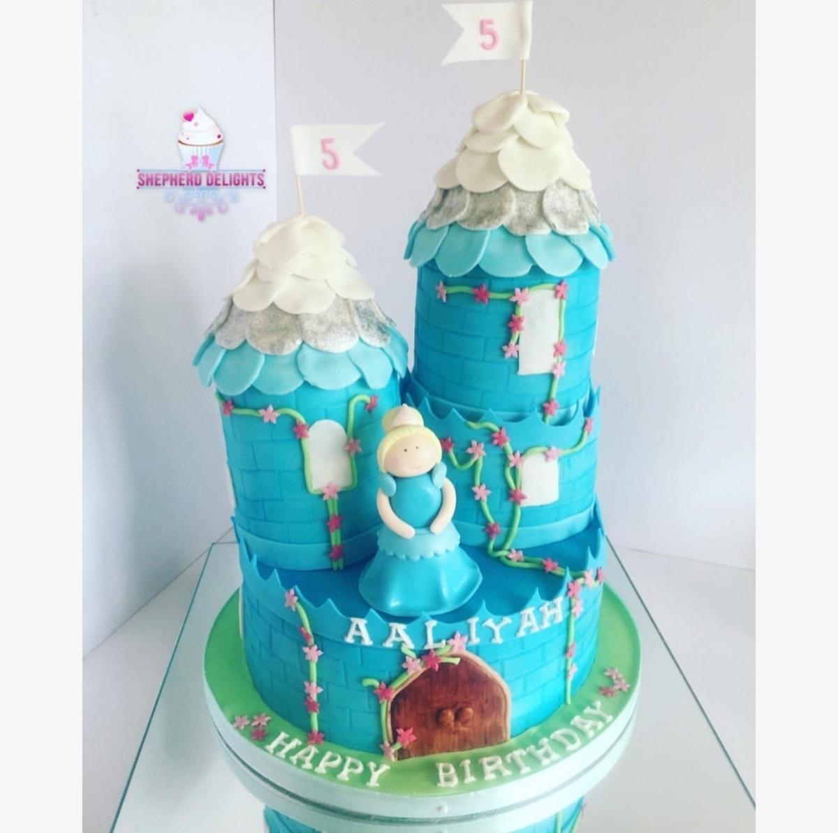 Princess Castle Birthday Cake Birthday Cakes Cakes For Children