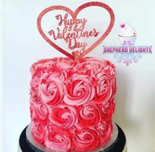Phenomenal Valentines Day Cake Heart Shaped Wedding Cakes Red Velvet Birthday Cards Printable Riciscafe Filternl